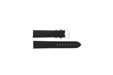 Watch strap Universal 054.01L XL Leather Black 22mm