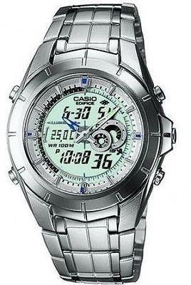 613b3d1cd128 Watch strap Casio EFA-119   10220629 Steel Steel