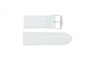 Watch strap Universal 305.09 Leather White 34mm