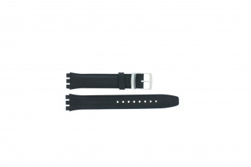 Strap appropriate to Swatch navy blue WP-51643-17mm