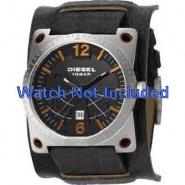 Watch strap DZ1212 Leather Black 28mm