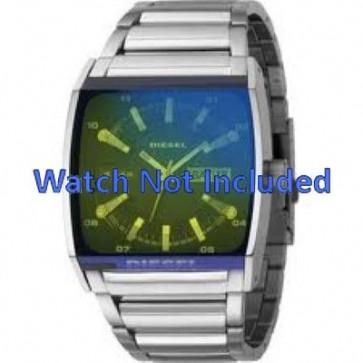 Diesel watch strap DZ1251 Metal Silver 34mm