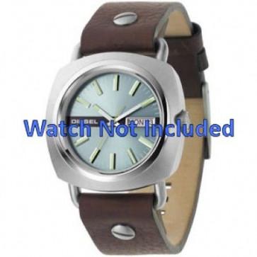Watch strap Diesel DZ2146 Leather Brown 22mm