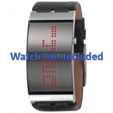 Diesel watch strap DZ7092 Leather Black 30mm