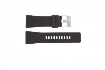 Watch strap DZ1114 Leather Brown 29mm