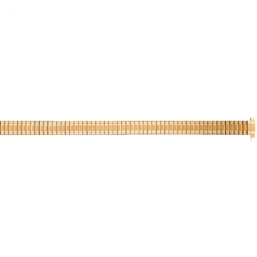 Watch strap Universal FEB603 Steel Gold plated 8mm