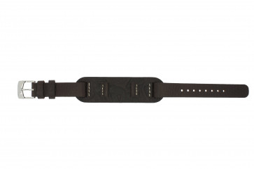 Watch strap Fossil JR1158 Leather Brown 14mm