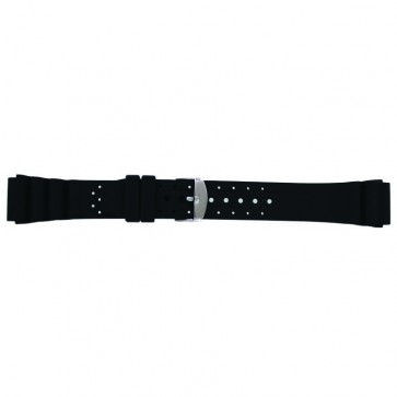 Watch strap Universal SL100 Silicone Black 22mm