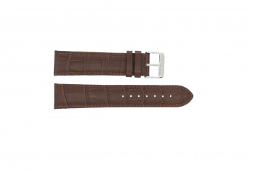 Watch strap Universal 305R.02 Leather Brown 18mm