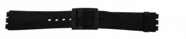 Strap for Swatch black 16mm PVK-SC15.01