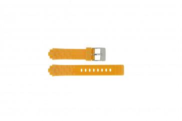 Adidas watch strap ADH2105 Rubber Orange 18mm