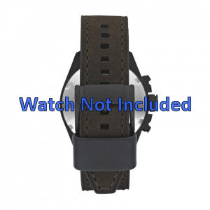 Watch strap Fossil CH2804 Leather Brown 22mm