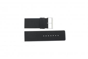 Watch strap Davis BB0330 Leather Black 30mm