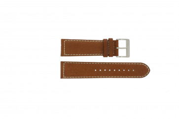 Davis watch strap BB0451.24L Leather Light brown 24mm