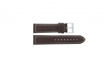 Watch strap Davis BB1021 / BB1023 Leather Brown 22mm