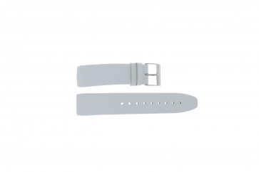 Davis watch strap BB1544 Leather White 22mm