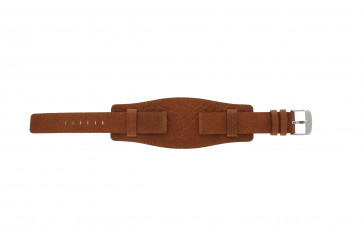 Watch strap WoW B0222 Leather Cognac 18mm
