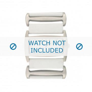 Davis watch strap BB0755 Leather White 36mm