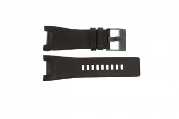 Watch strap Diesel DZ1216 Leather Brown 32mm