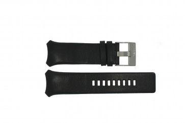 Diesel watch strap DZ-3034 / DZ-3035 Leather Black 31mm