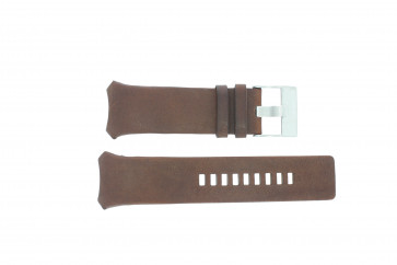 Diesel watch strap DZ3037 Leather Brown 32mm