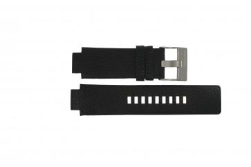 Diesel watch strap DZ-4146 Leather Black 16mm
