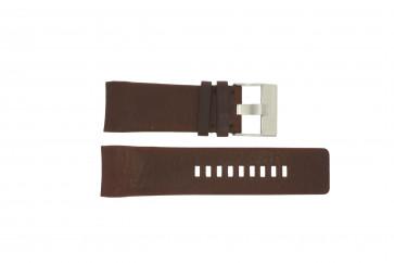 Diesel watch strap DZ4029 Leather Brown 28mm