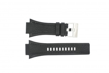Diesel watch strap DZ-4172 Leather Black 27mm