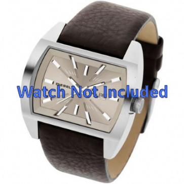 Watch strap Diesel DZ1113 Leather Brown 29mm