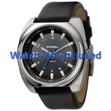 Diesel watch strap DZ1247 Leather Black 26mm