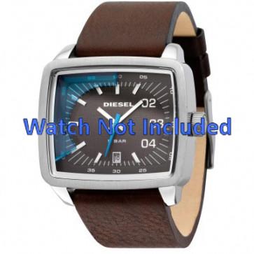 Diesel watch strap DZ1334 Leather Brown 29mm