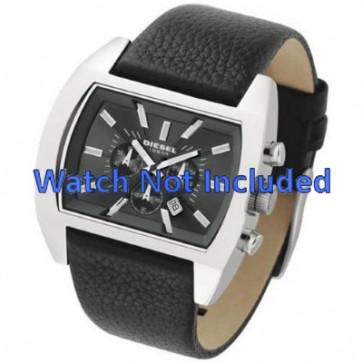 Diesel watch strap DZ4140 Leather Black 29mm