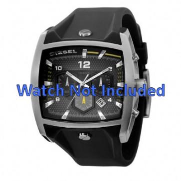 Watch strap Diesel DZ4165 Silicone Black 33mm