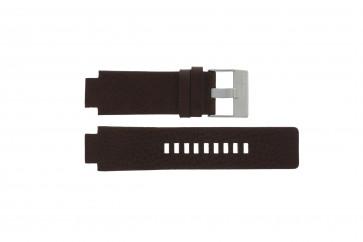 Diesel watch strap DZ1123 / DZ1090  Leather Brown 18mm