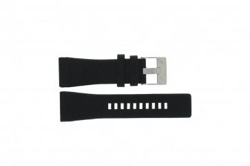 Watch strap Diesel DZ1116 / DZ1115 Leather Black 29mm