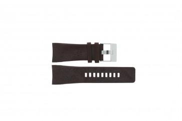 Diesel watch strap DZ1317 Leather Brown 29mm