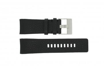 Diesel watch strap DZ-4031 / DZ4032 / DZ 4028 Leather Black 29mm
