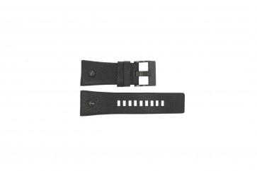 Diesel watch strap DZ7127 Leather Black 29mm