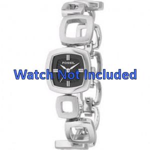 Watch strap Fossil ES1884 / ES1869 / ES1964 Steel 11mm