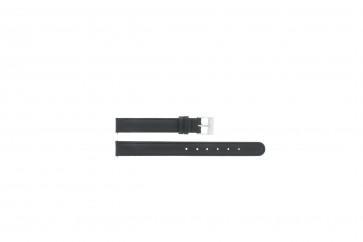 Watch strap C012 XL Leather Black 12mm + standard stitching