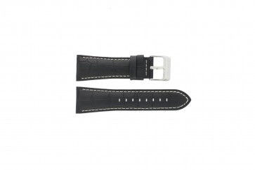 Watch strap Festina F16235-6 / F16235-F Leather Black 28mm