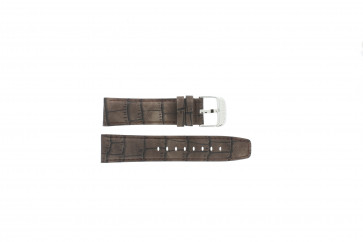 Watch strap Festina F16573/4 Leather Brown 23mm