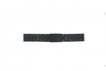 Fossil watch strap CH2816 Metal Black 20mm