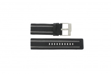 Fossil watch strap JR-9934 Leather Black 26mm