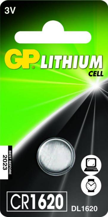 Button cell GP CR1620