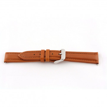 Genuine leather cognac brown 24mm G51