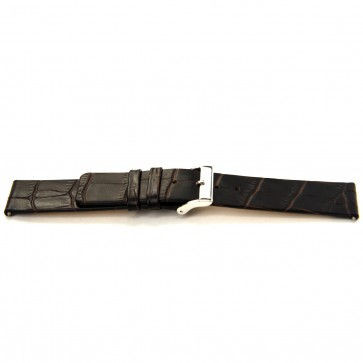 Watch strap Universal F350 Leather Brown 18mm
