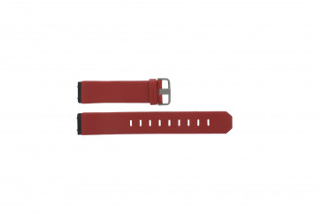 Jacob Jensen watch strap genuine leather red 800 serie 17mm