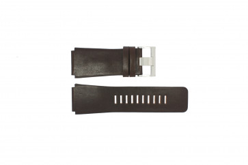 Watch strap Fossil JR9121 Leather Brown 26mm