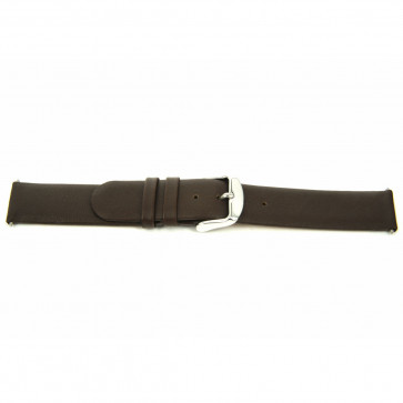 Watch strap Universal F300 Leather Brown 18mm